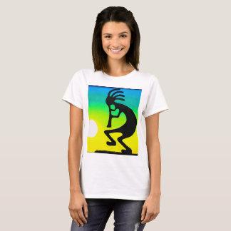 Camisa do T das mulheres de Kokopeli grande