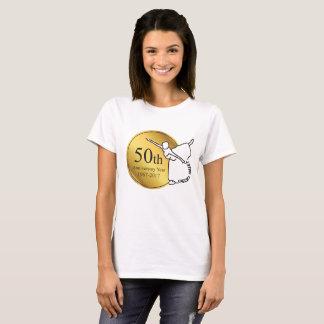 Camisa do T das mulheres do aniversário do balé