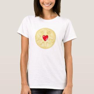 Camisa do T das mulheres Jammy da ilustração de