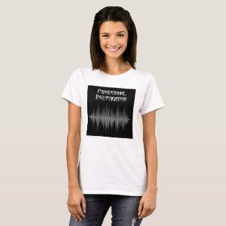 Camisa do T das mulheres Paranormal de Soundwave