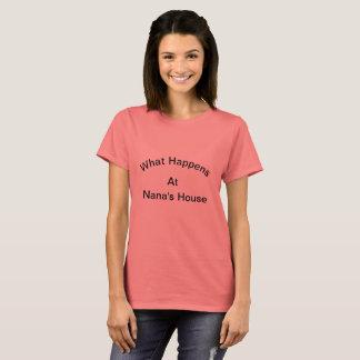 Camisa do T de Nana orgulhosa