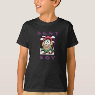 Camisa do T do miúdo do menino da batida