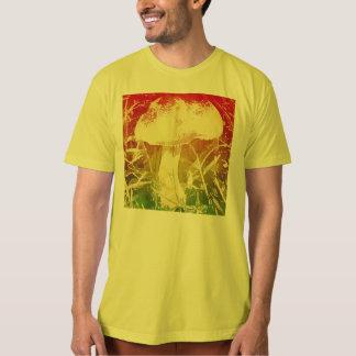 Camisa do T dos homens da aguarela do cogumelo