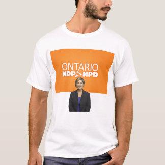 Camisa do T dos homens de Ontário NDP