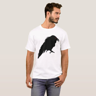 Camisa do T dos homens do corvo