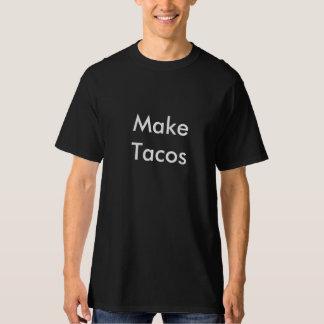 camisa do taco camisetas
