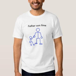Camisa do tempo t do filho do pai tshirt