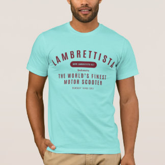 Camisa do texto do blogue de Lambrettista