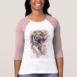 Camisa do tigre do rugido