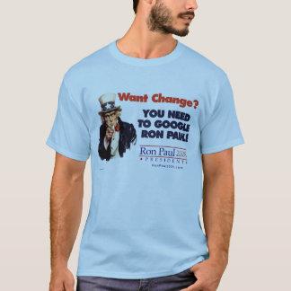Camisa do tio Sam de Google Ron Paul