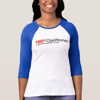 Camisa do tom de TEDxOjaiWomen 2