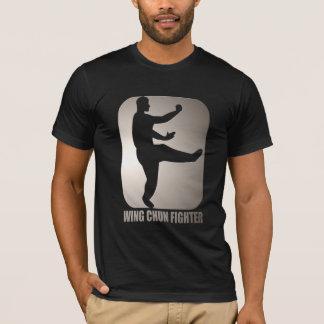 """Camisa do treinamento de Chun """"Kung Fu"""" da asa"""