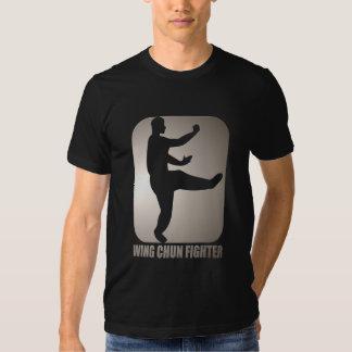 "Camisa do treinamento de Chun ""Kung Fu"" da asa T-shirts"
