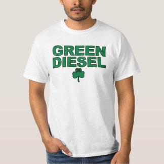 """""""Camisa do trevo de #36 do diesel verde"""" Tshirt"""