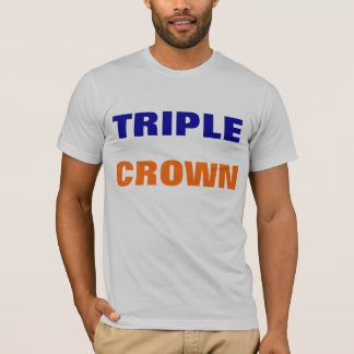 Camisa do Triple Crown