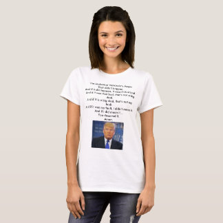 Camisa do trunfo