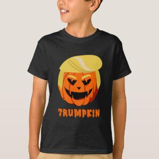 Camisa do trunfo T de Trumpkin o Dia das Bruxas