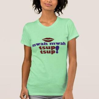 camisa do tsup do tsup do mwah do mwah t-shirt
