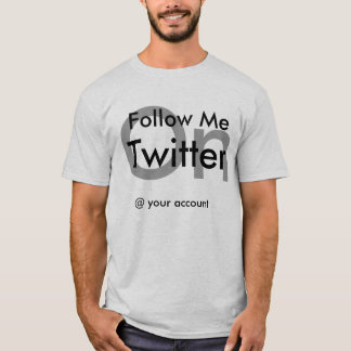 camisa do twitter