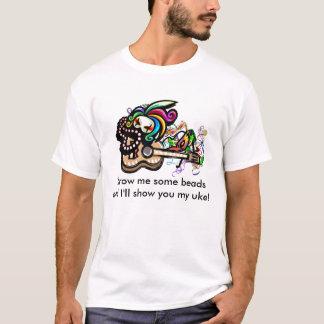 Camisa do Ukulele de Mardis Gras