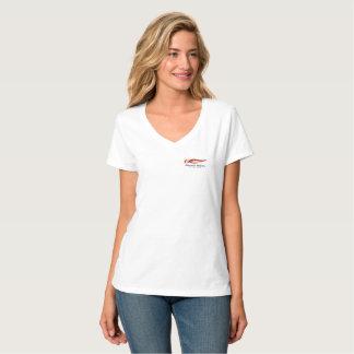 Camisa do V-Pescoço de MMSC