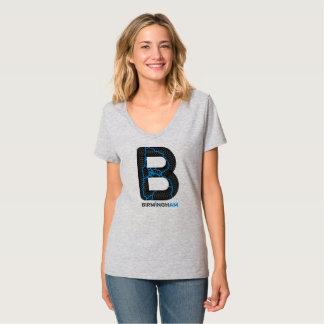 Camisa do V-pescoço dos canais de Birmingham
