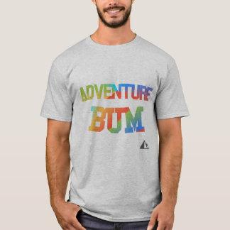 Camisa do vagabundo da aventura do arco-íris
