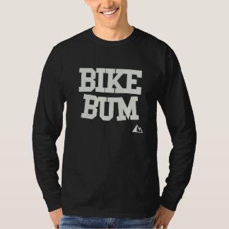 Camisa do vagabundo da bicicleta