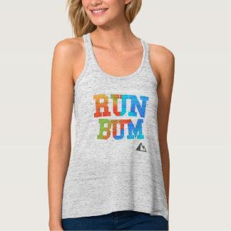 Camisa do vagabundo do funcionamento do arco-íris