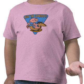 Camisa do vaqueiro T dos miúdos T-shirt