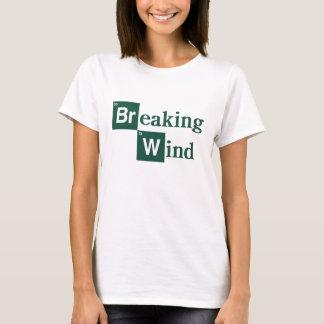 Camisa do vento de quebra