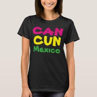 camisa do viagem T das férias do Cancun México das