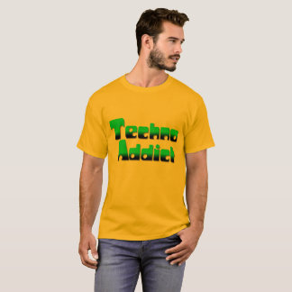 Camisa do viciado 2 de Techno