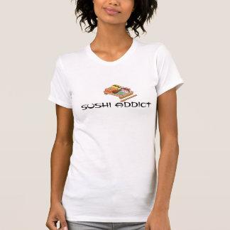 Camisa do viciado do sushi