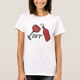 Camisa do vinho de BFF