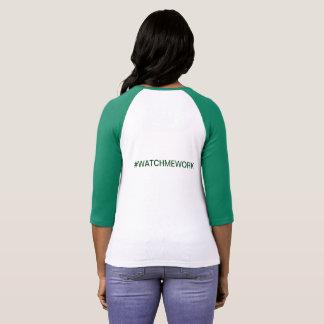 Camisa do #WATCHMEWORK para o Lync-Ribeiro