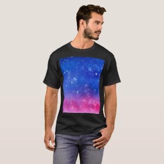 Camisa do Watercolour da galáxia
