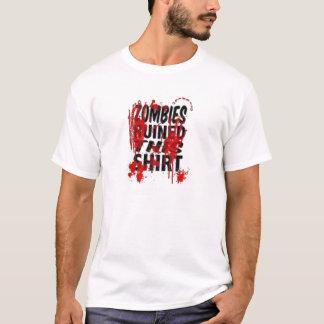 Camisa do zombi