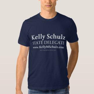 Camisa dos azuis marinhos de Kelly Schulz do Tshirts