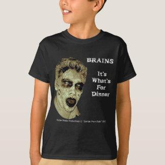 """Camisa dos """"cérebros"""" dos miúdos"""