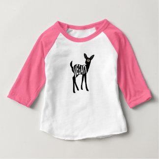 Camisa dos cervos do Vegan