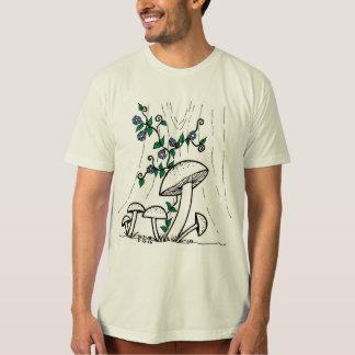 Camisa dos cogumelos & das corriolas