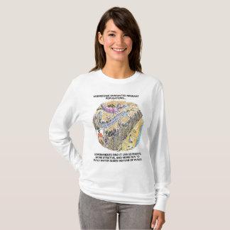 Camisa dos desenhos animados da l-luva das