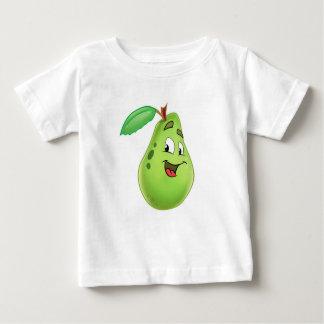 Camisa dos desenhos animados da pera dos miúdos