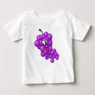 Camisa dos desenhos animados da uva dos miúdos