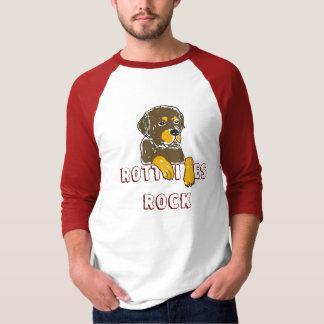 Camisa dos desenhos animados de Rottweiler da