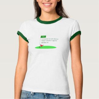 Camisa dos desenhos animados do golfe de Eagle do