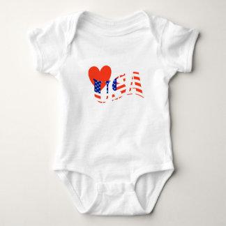 Camisa dos EUA do AMOR