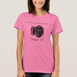 Camisa dos fotógrafo