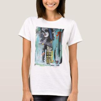 camisa dos grafites das mulheres pelo zimad